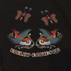 HARLEY-DAVIDSON hoodie. Cute! Excellent condition!